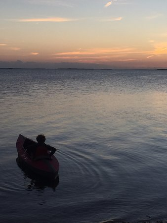 Summerland Key, FL: A sunset paddle off of Tarpon Belly