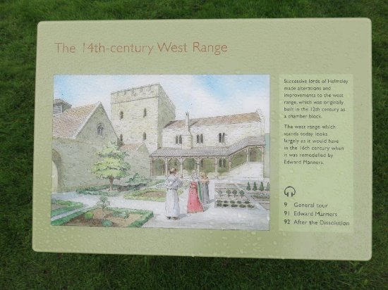 Helmsley, UK: Example of Wonderful Educational Plaques