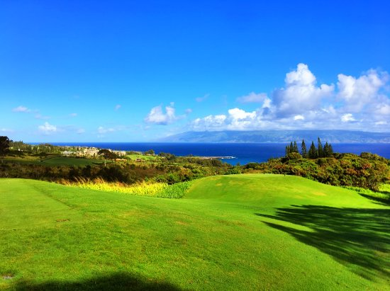 Kapalua Plantation Course: Breathtaking.........