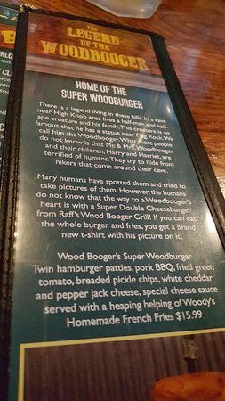 Norton, VA: Wood booger story