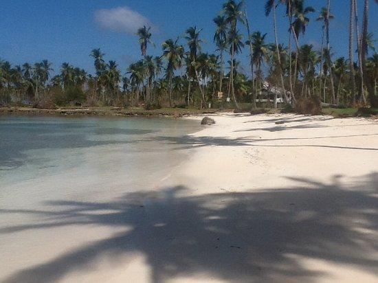 Las Galeras, Dominikanische Republik: Beach at caleta playa paraiso