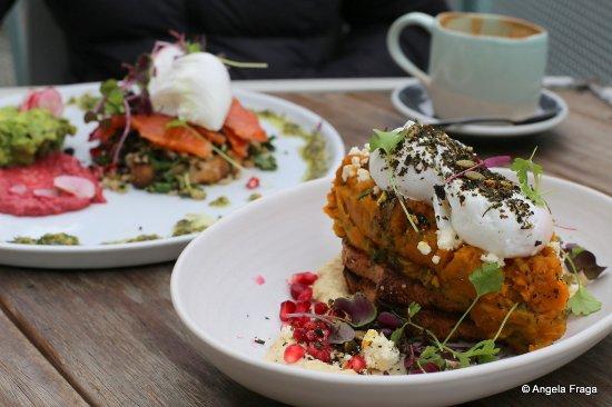 Carnegie, Australia: Roasted pumpkin bruschetta