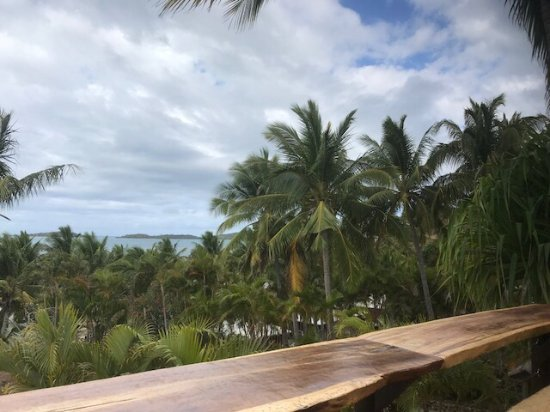 Wananavu Beach Resort: Ocean view from balcony