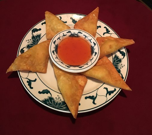 Absecon, Νιού Τζέρσεϊ: Fried Cheese Wonton (Rangon)