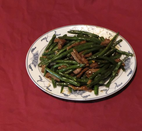Absecon, Nueva Jersey: Beef with String Beans