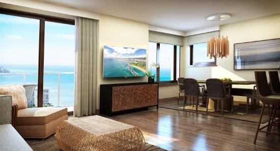 Hilton Hawaiian Village Waikiki Beach Resort: Penthouse Suite