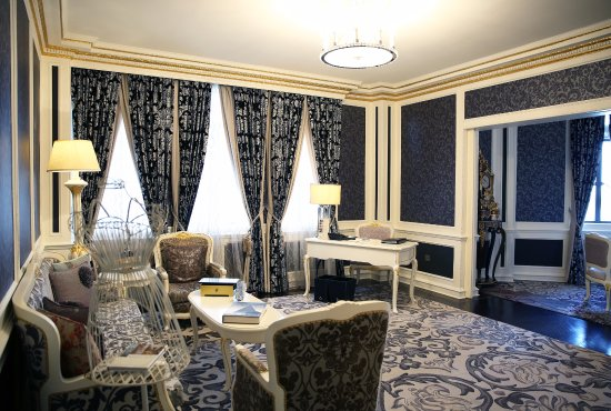 Fairmont Peace Hotel: French Suite - Living Room