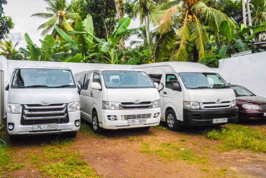Piliyandala, Sri Lanka: Our fleet
