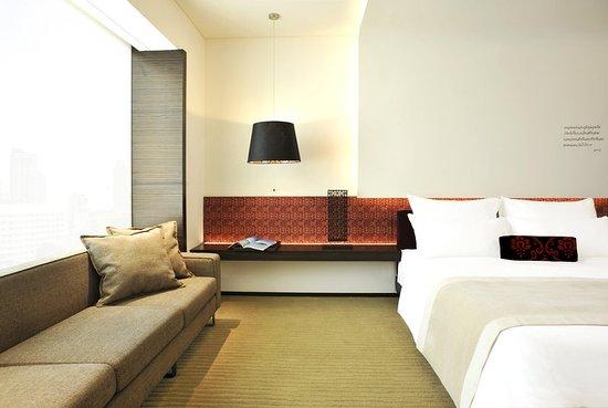 Le Meridien Bangkok: Guest Room - Vista Room