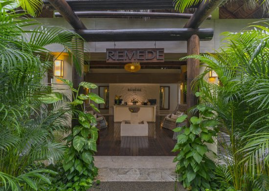 The St. Regis Punta Mita Resort: Remede Spa Entrance