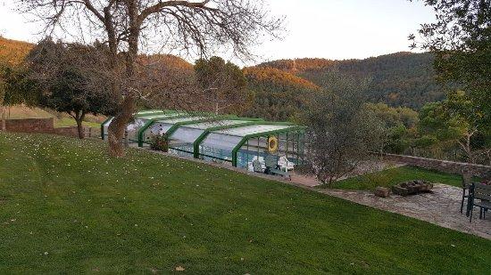 Muntanyola, Испания: Piscina cubierta