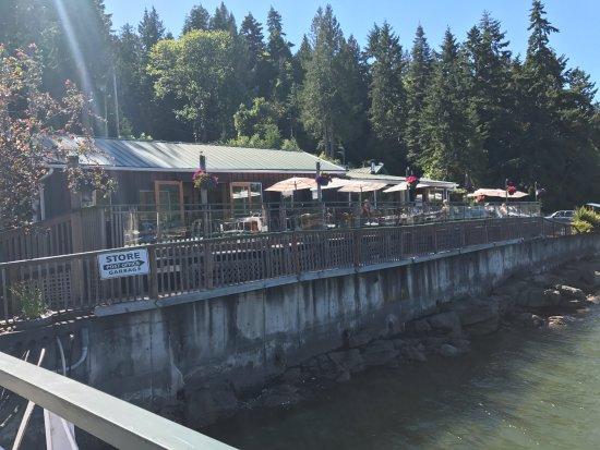Exterior view from dock ramp, Thetis Island Marina Telegraph Harbour Rd, British Columbia
