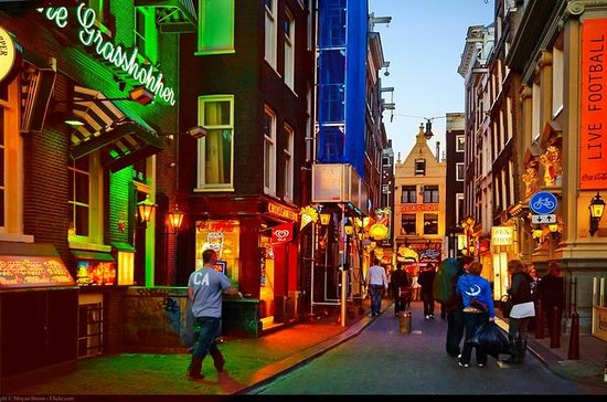 Private Amsterdam Red Light District...