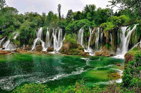 From Sarajevo: Visit Kravice waterfall