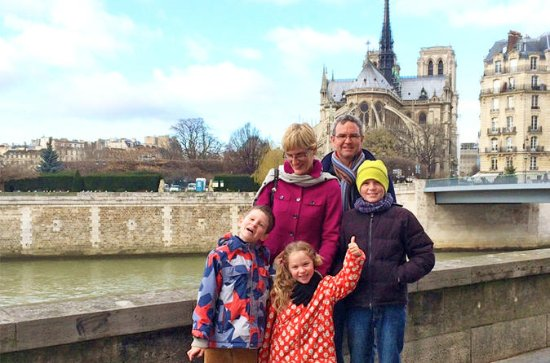 Kids and Families Notre Dame of Paris...