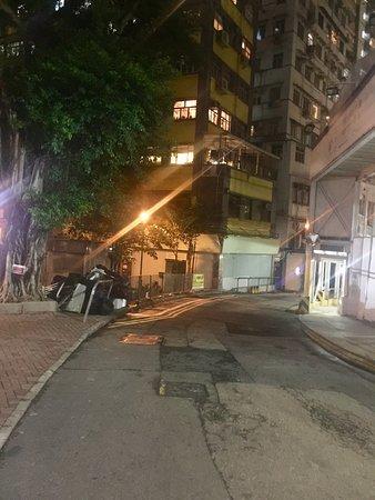 JJ Hotel: side street