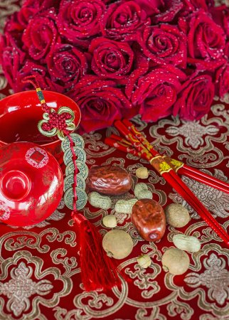 The Royal Begonia A Luxury Collection Resort Sanya Traditional Chinese Wedding Decoration