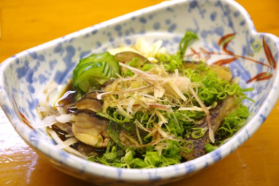 Susaki, Japan: Seared Moray Eel slices (ウツボのたたき)