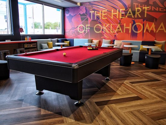 Play Zone Pool Table Picture Of Tru By Hilton Oklahoma