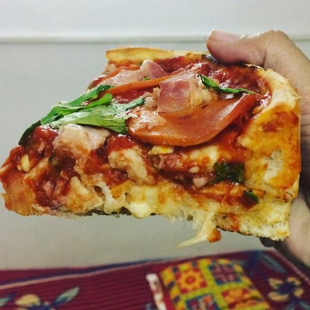 InstaPizza: look at the slice