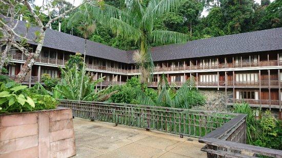 The Datai Langkawi: プールサイドから