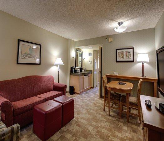 ซานราฟาเอล, แคลิฟอร์เนีย: 2 Room Suite Living Room