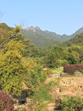 Xingning, China: Great views of the mountains