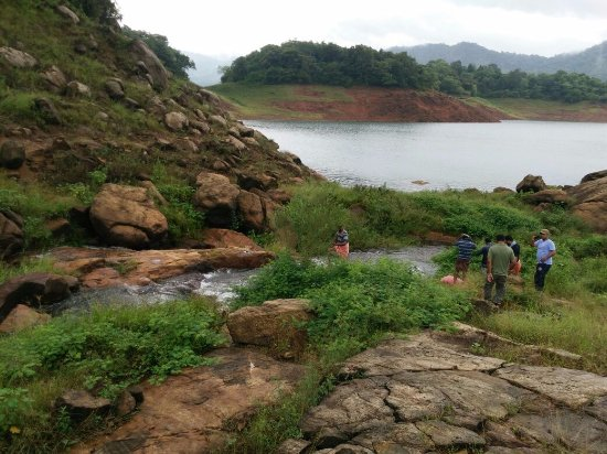 Thenmala, Indien: Trekking photos
