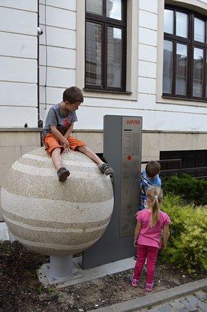 Uhersky Brod, République tchèque : Planetární stezka - Jupiter
