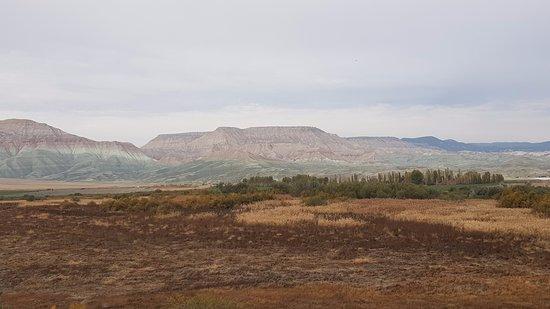 Nallihan, Turcja: Önde kuş cenneti arkada Kız Tepesi