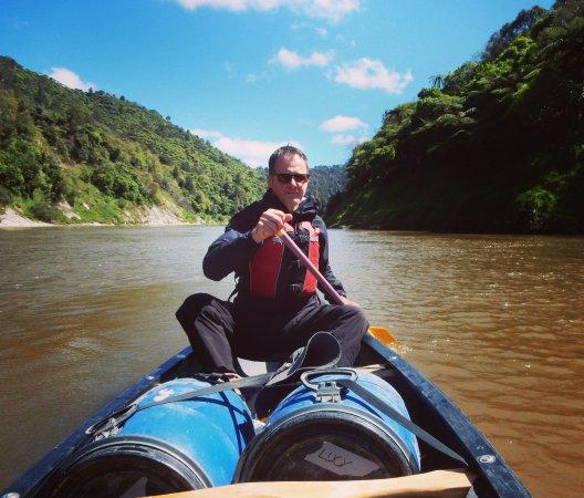 Raetihi, New Zealand: Me, the skipper.