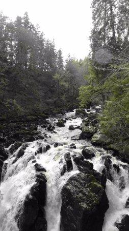 Dunkeld, UK: River Braan,Waterfall,The Hermitage