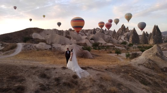 Turquia: View of Cappadocia Hot Air Balloon Ride