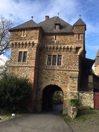 Braunfels, Tyskland: der Eingang