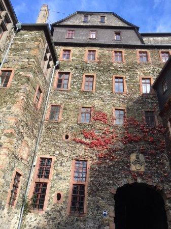 Braunfels, Tyskland: im Innenhof