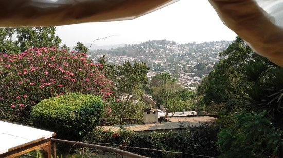 Chez Maky: View from the hill