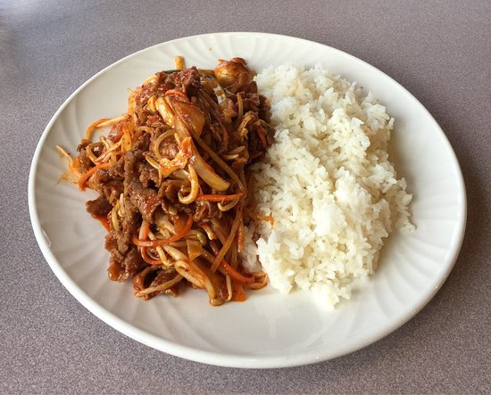 Valemount, Canadá: Bulgogi Beef With Rice