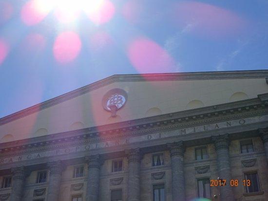 Banca Popolare Di Milano Foto Di Palazzo Della Banca Popolare Di