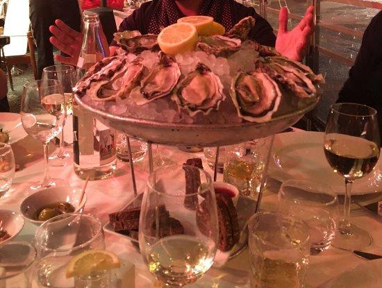 La Focaccia: Oysters for a start