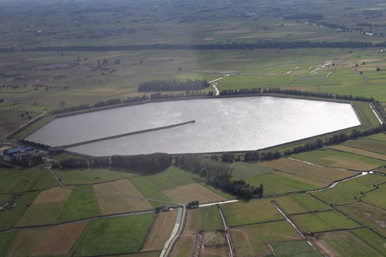 Diksmuide, Belgium: Waterspaarbekken De Blankaart
