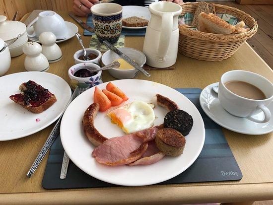 Fanore, ไอร์แลนด์: Breakfast