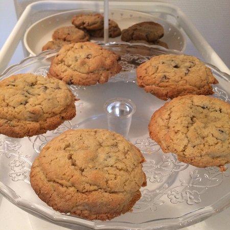 Champigny-sur-Marne, ฝรั่งเศส: Les fameux cookies du Bobine Home