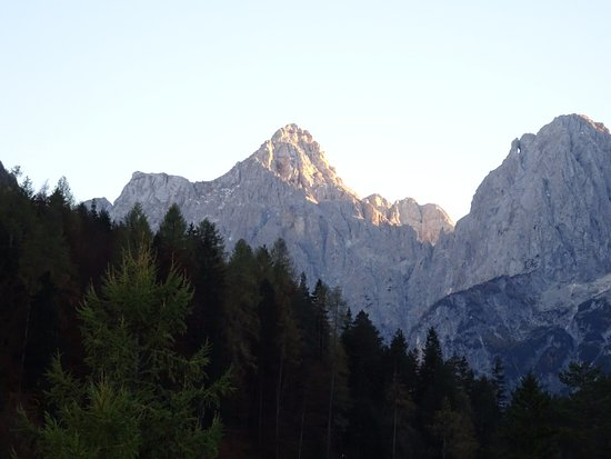 Best Western Hotel Kranjska Gora: View from balcony