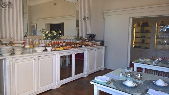 Fresnaye, Южная Африка: Buffet du petit déjeuner.