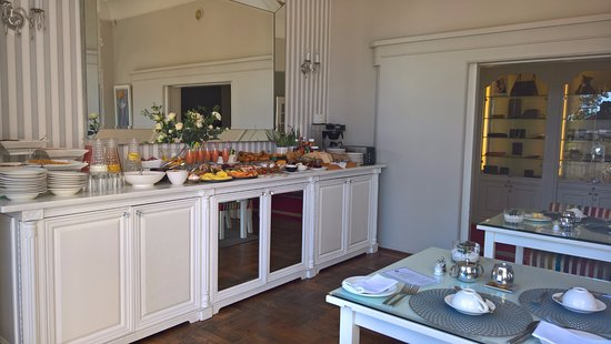 Fresnaye, South Africa: Buffet du petit déjeuner.