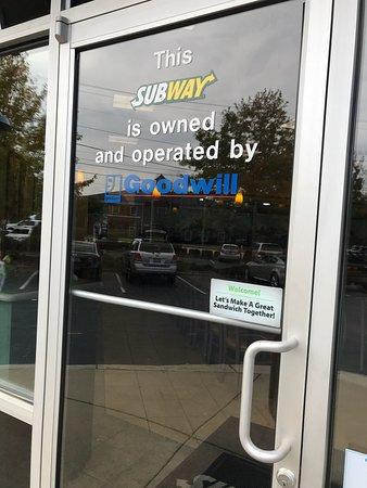 Goodwill Greenville Sc >> Subway Greenville 115 Haywood Rd Restaurant Reviews