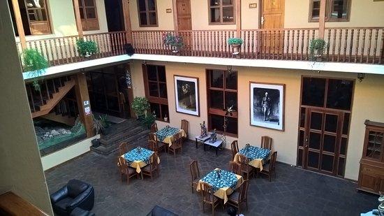 Hotel Los Andes de América: Espaço interno para descanso