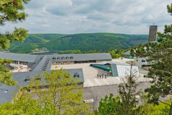 Schleiden, Germany: Blick auf den Eingang des Forums (Roman Hövel-Vogelsang IP)