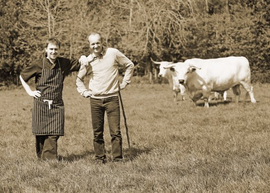 The Reservoir Inn: Local White Park Beef - straight from field to table!