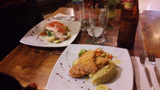 La Casona Restaurant: I nostri piatti (trota)